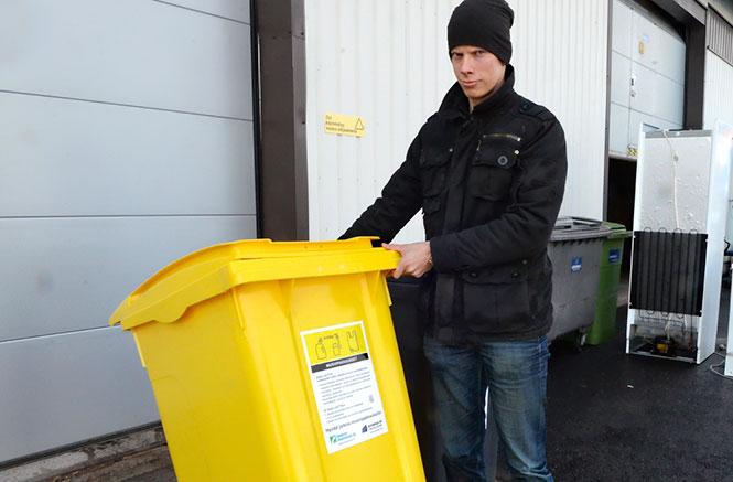Muovijätteen Keräys